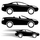 Segni dell'automobile Fotografie Stock Libere da Diritti