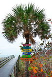Segni della costa di golfo di Florida Immagine Stock Libera da Diritti
