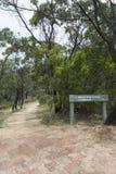 Segni della miniera del piombo argentifero di Talisker, parco di conservazione di Talisker, Sil Fotografie Stock