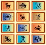 Segni dello zodiaco Fotografia Stock