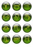 Segni dello zodiaco illustrazione di stock