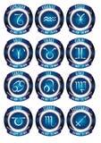 Segni dello zodiaco Fotografie Stock