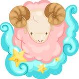 Segni dello zodiaco - Aries Fotografie Stock Libere da Diritti