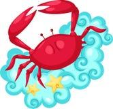Segni dello zodiaco - Cancer Fotografia Stock Libera da Diritti