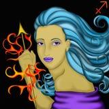 Segni dello zodiaco - Sagittario royalty illustrazione gratis
