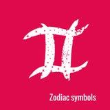 Segni di astrologia dei pesci dello zodiaco Fotografie Stock Libere da Diritti