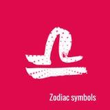Segni di astrologia della Bilancia dello zodiaco Fotografia Stock