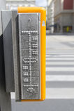 Segni di Braille Fotografie Stock Libere da Diritti