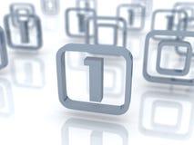 Segni di codice binario Immagini Stock Libere da Diritti