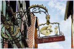 Segni di commercio dell'Alsazia Immagine Stock Libera da Diritti