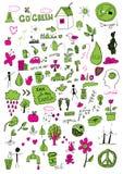 Segni di Eco Fotografia Stock Libera da Diritti