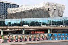 Segni di elezione della Svezia fotografia stock libera da diritti