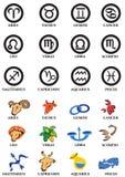 Segni di Horoscope Fotografia Stock