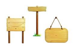 Segni di legno royalty illustrazione gratis