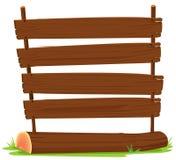 Segni di legno Fotografie Stock Libere da Diritti