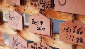 Segni di legno Immagini Stock Libere da Diritti