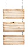 Segni di legno d'annata Fotografia Stock Libera da Diritti
