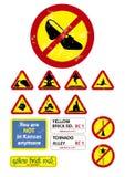 Segni di Oz illustrazione di stock