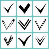 Segni di spunta illustrazione vettoriale