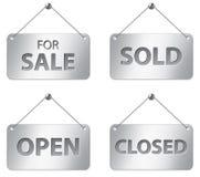 Segni di vendita Immagini Stock