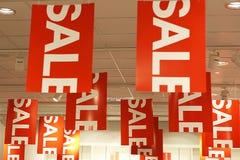 Segni di vendita illustrazione di stock