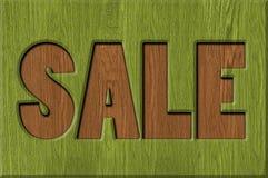 Segni di vendita fotografia stock
