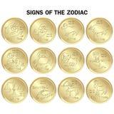 Segni di zodiaco immagini stock libere da diritti