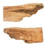 Segni direzionali del driftwood di massima Fotografie Stock