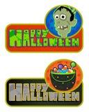 Segni festivi di Halloween Fotografia Stock