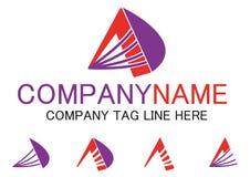 Segni il logo con lettere di affari di A Immagini Stock Libere da Diritti
