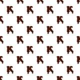 Segni K con lettere dall'alfabeto latino fatto di cioccolato royalty illustrazione gratis