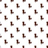 Segni la L con lettere dall'alfabeto latino fatto di cioccolato royalty illustrazione gratis