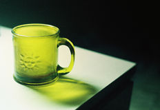Segni la tazza Fotografia Stock