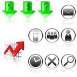 Segni sul commercio Fotografia Stock