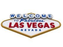 Segno 3 di Las Vegas Fotografie Stock Libere da Diritti