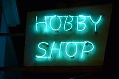 Segno al neon Immagine Stock