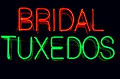 Segno al neon Fotografie Stock