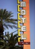 Segno al neon casinò/dell'hotel Fotografie Stock Libere da Diritti