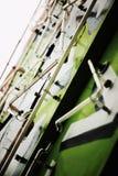 Segno al neon della TV Fotografie Stock Libere da Diritti