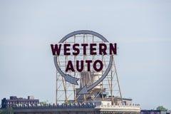 Segno automatico occidentale Fotografia Stock