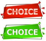 Segno Choice Fotografia Stock Libera da Diritti
