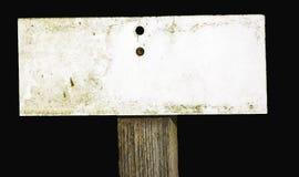 Segno consumato Fotografie Stock