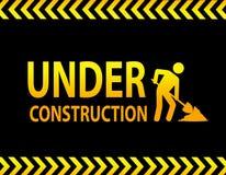 Segno in costruzione royalty illustrazione gratis
