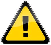 Segno d'avvertimento del pericolo Immagine Stock