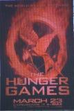 Segno dei giochi di fame Fotografie Stock Libere da Diritti