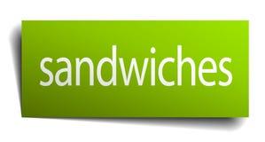 segno dei panini illustrazione vettoriale
