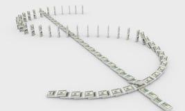 Segno dei soldi Immagini Stock Libere da Diritti