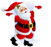 Segno del Babbo Natale Immagine Stock Libera da Diritti