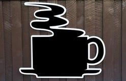 Segno del caffè Fotografia Stock Libera da Diritti