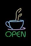 Segno del caffè Immagini Stock